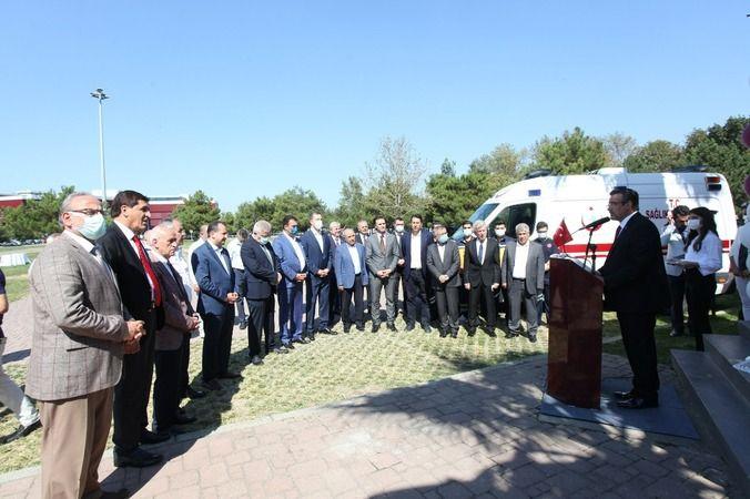 Türkiye'nin uluslararası seviyede faaliyetlerini yürüten tekstil ve ticaret merkezi BUTTİM, 25. yılında bölge sakinlerinin sağlık ihtiyacını karşılama