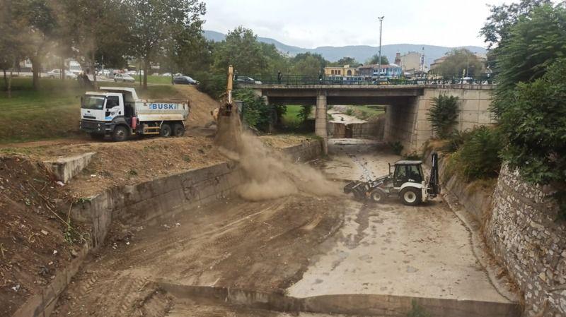 Gökdere'de sel ve taşkınlara yönelik kış hazırlıkları başladı