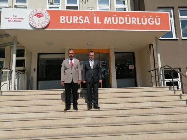 Meteoroloji Genel Müdürü Coşkun, Bursa'da
