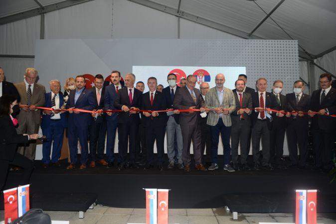 Sırbistan Cumhuriyeti'nin Bursa Fahri Konsolosluğu törenle hizmete açıldı.