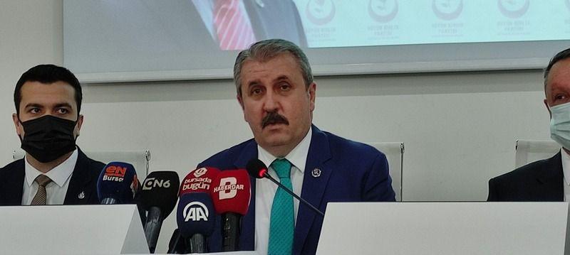 Mustafa Desteci Bursa'da açıklamalarda bulundu