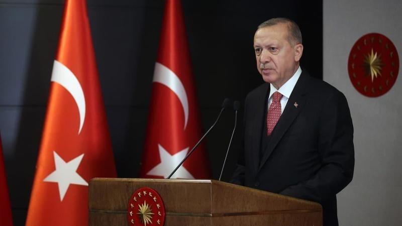 Cumhurbaşkanı Erdoğan Cuma namazı sonrası konuştu