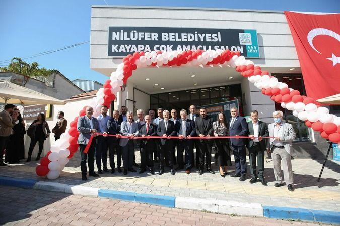 Nilüfer Belediyesi kırsal mahallelerin ihtiyaçlarına ilişkin çözümler getirmeye devam ediyor. Belediye tarafından yenilenen Kayapa Hamamı ve yeni inşa