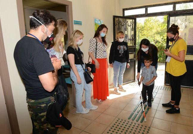 Eğitimciler Nilüfer Özel Eğitim Meslek Lisesi'nin 'Erasmus Plus K 229 İyi Örneklerin Değişimi' projesi kapsamında Bursa'ya geldi. Eğitimciler Bizim Ev