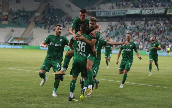 Bursaspor Türkiye Kupası'nda Ceyhanspor'la eşleşti