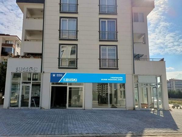 BUSKİ Yenişehir Şube Müdürlüğü hizmet binasının yerini, abonelerine sunduğu hizmet kalitesini artırmak, daha kaliteli ve sağlıklı ortamlarda hizmette