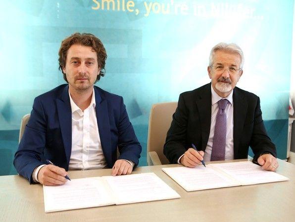 Bursaspor Basketbol Takımı, spor salonunu dört yıl daha kullanabilmesi için anlaşma imzalandı. Nilüfer Belediyespor, Bursaspor Basketbol Kulübü Derneğ