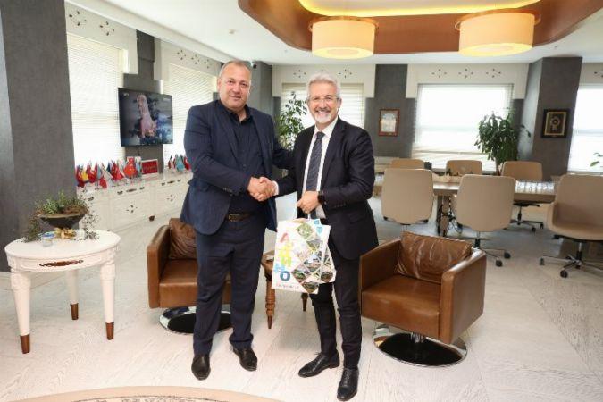 Bulgaristan'daki Ardino Belediyesi ile kardeş kent olan Nilüfer Belediyesi, Ardino Belediye Başkanı İzzet Şaban'ı, Halk Evi'nde ağırladı.