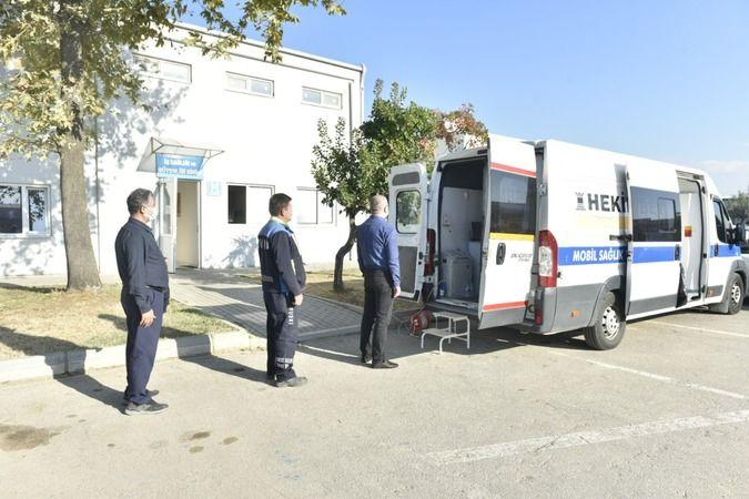 Buski'de sağlık taraması yapıldı