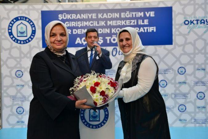 Bursa'da bir kadın kooperatifi daha kuruldu