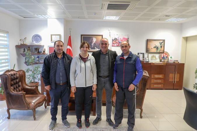 Gemlik Belediyespor ve Millî Takım Judocusu Semanur Erdoğan, 2024 yılında Fransa'da düzenlenecek olimpiyatlara katılım puanlarını toplamak üzere Paris