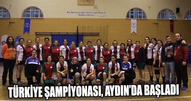 Türkiye Şampiyonası, Aydında Başladı