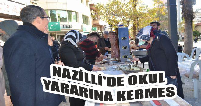 Nazilli'de okul yararına kermes