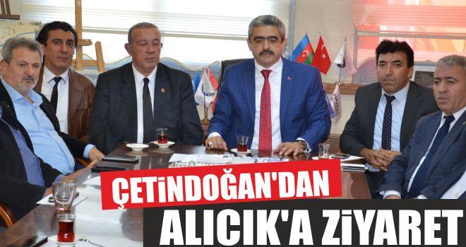 Çetindoğan'dan Alıcık'a ziyaret