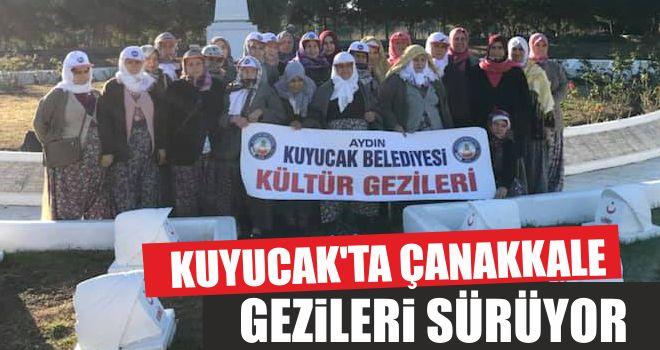 Kuyucak'ta Çanakkale gezileri sürüyor