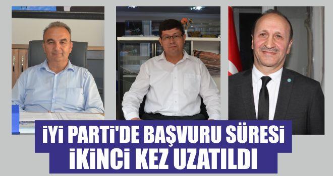 İYİ Parti'de başvuru süresi ikinci kez uzatıldı