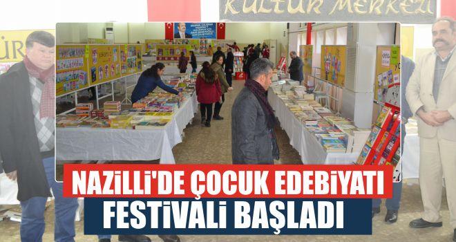 Nazilli'de Çocuk Edebiyatı Festivali başladı