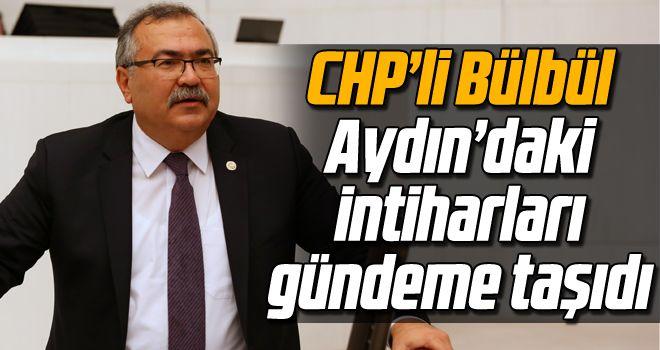 CHP'li Bülbül, Aydın'daki intiharları gündeme taşıdı