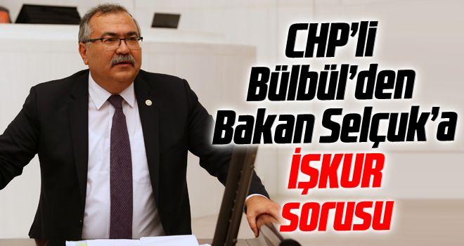 CHP'li Bülbül'den Bakan Selçuk'a İŞKUR sorusu