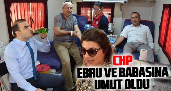 CHP, Ebru ve babasına umut oldu