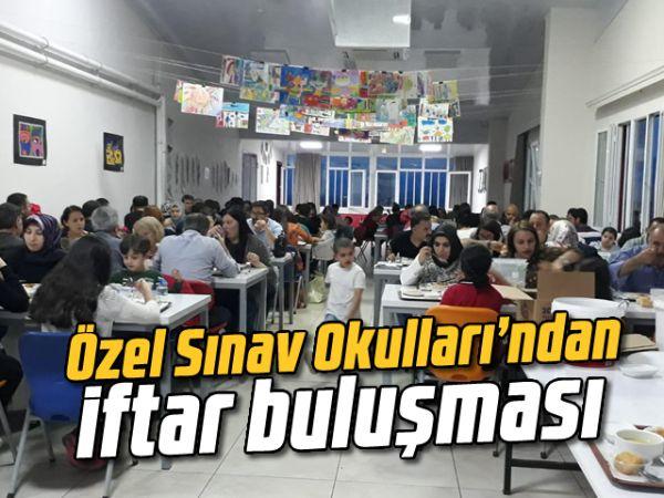 Özel Sınav Okullarından iftar buluşması