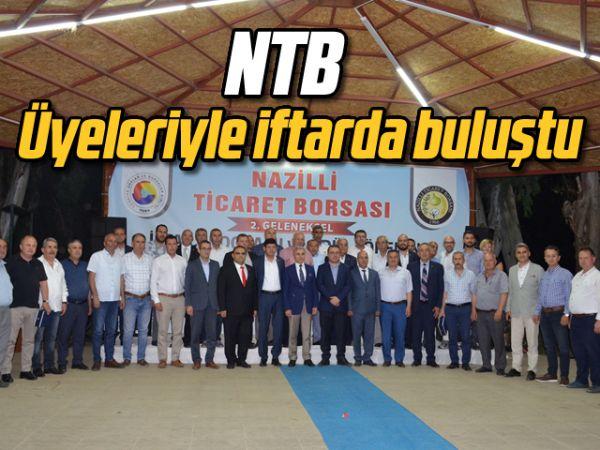 NTB, üyeleriyle iftarda buluştu