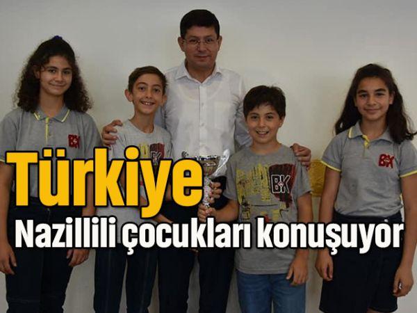 Türkiye, Nazillili çocukları konuşuyor