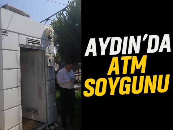 Aydın'da ATM soygunu