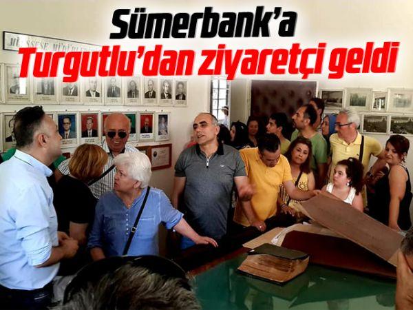 Sümerbank'a Turgutlu'dan ziyaretçi geldi