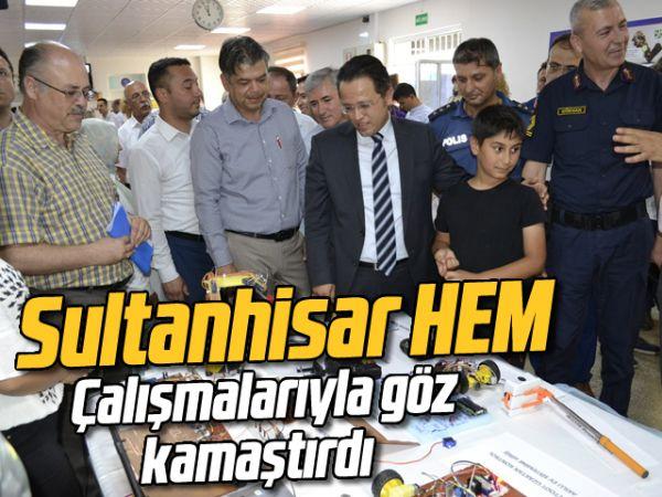 Sultanhisar HEM, çalışmalarıyla göz kamaştırdı