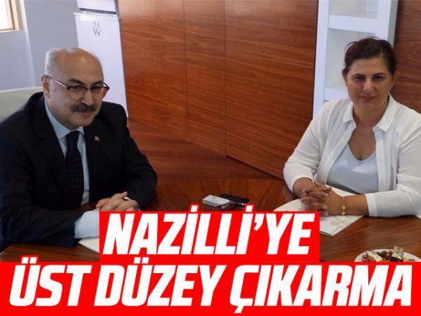 Nazilli'ye üst düzey çıkarma