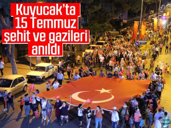 Kuyucak'ta 15 Temmuz şehit ve gazileri anıldı