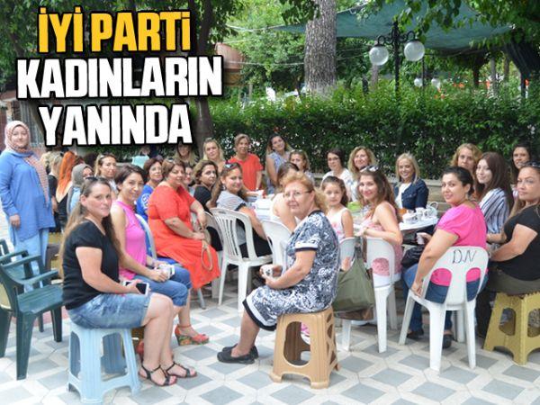 İYİ Parti kadınların yanında