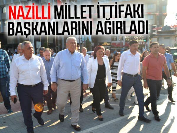 Nazilli, Millet İttifakı başkanlarını ağırladı