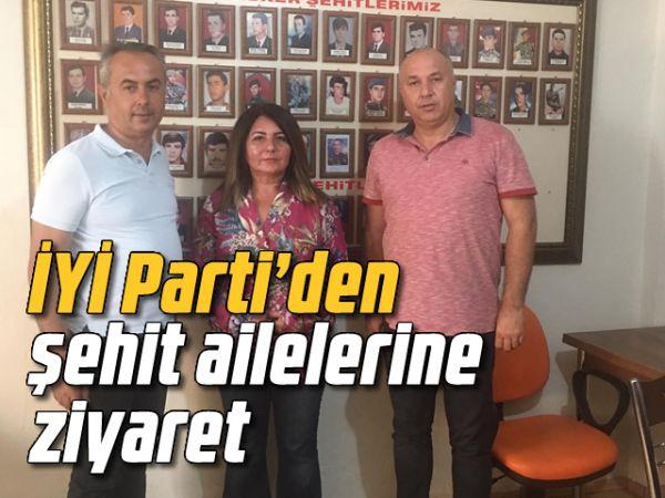 İYİ Parti'den şehit ailelerine ziyaret