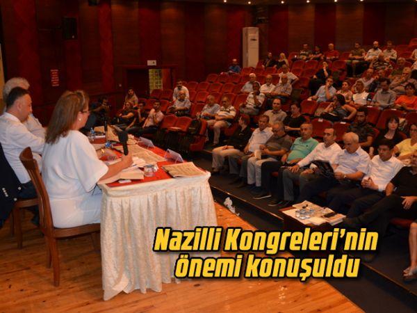 Nazilli Kongreleri'nin önemi konuşuldu