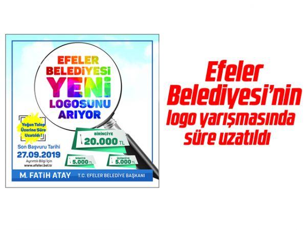 Efeler Belediyesi'nin logo yarışmasında süre uzatıldı