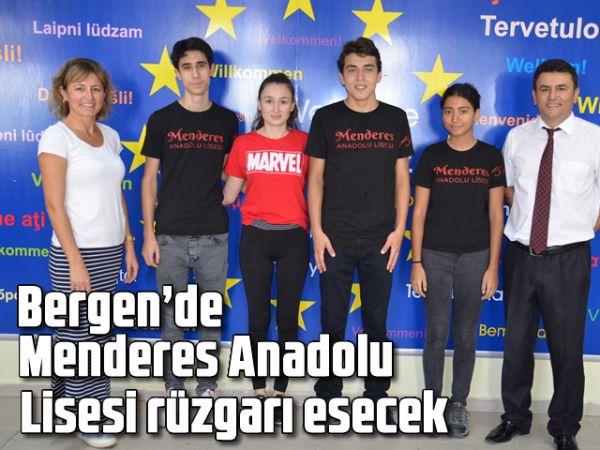 Bergen'de Menderes Anadolu Lisesi rüzgarı esecek