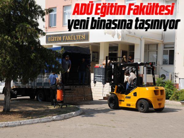 ADÜ Eğitim Fakültesi, yeni binasına taşınıyor