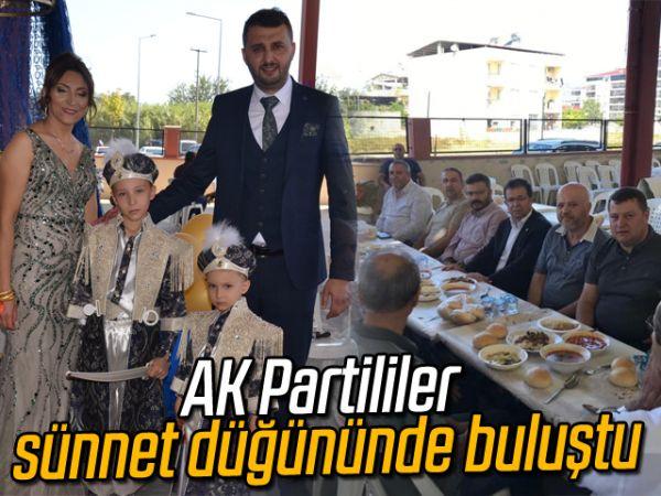 AK Partililer sünnet düğününde buluştu