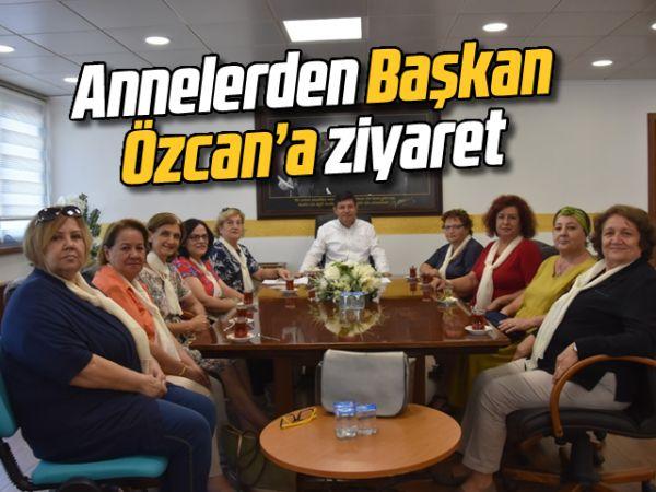 Anneler, Başkan Özcan'a taleplerini iletti