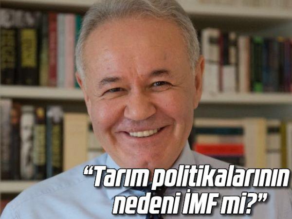 """""""Tarım politikalarının nedeni İMF mi?"""""""