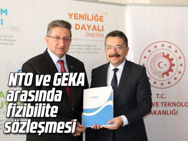 NTO ve GEKA arasında fizibilite sözleşmesi