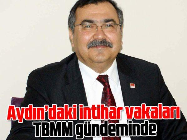 Aydın'daki intihar vakaları TBMM gündeminde