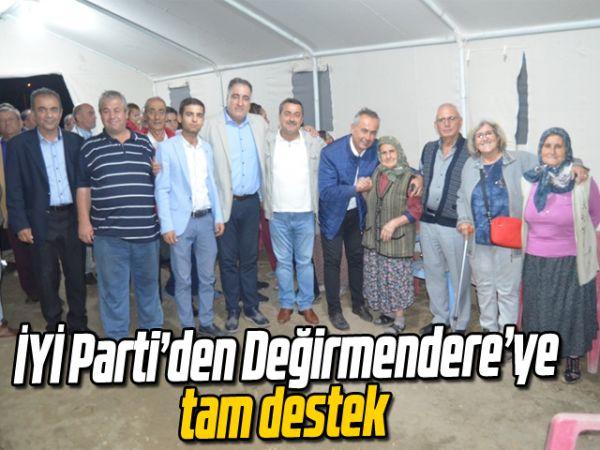 İYİ Parti'den Değirmendere'ye tam destek