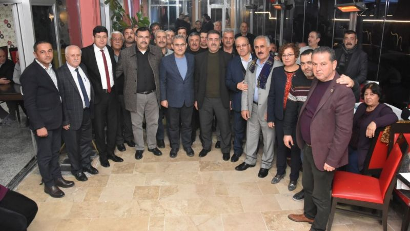 Özcan, Başkan Işık'ı Nazilli'ye davet etti