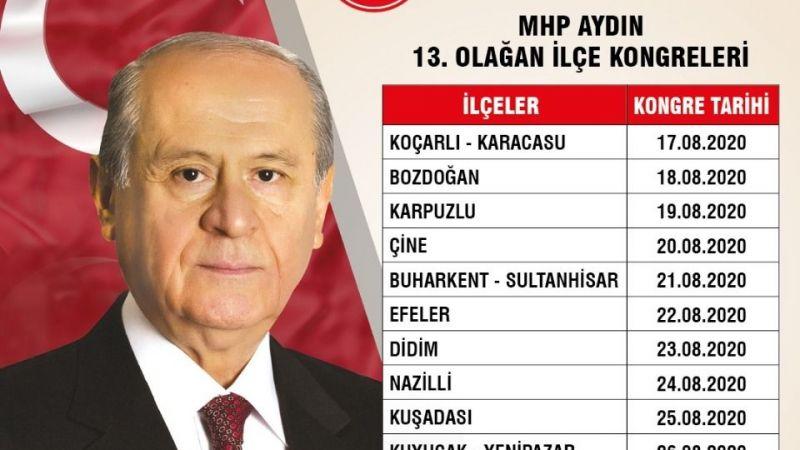 MHP 'de kongre tarihleri belli oldu