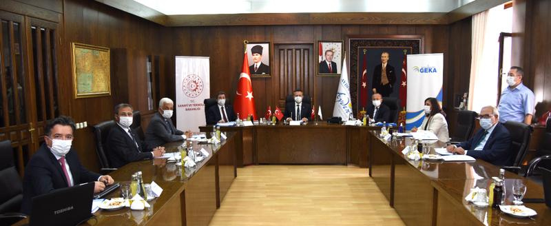 GEKA'nın 132'nci toplantısı Aydın'da yapıldı