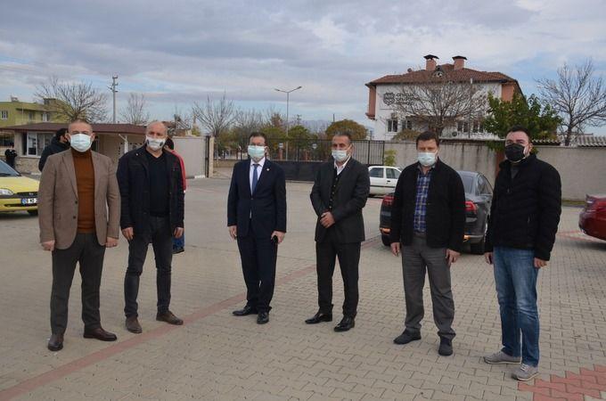 AK Partili Erim ve Abak'tan Naz Naz'a destek ziyareti