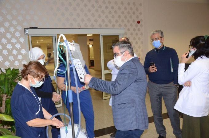 Nazilli'de hastaneye anlamlı bağış